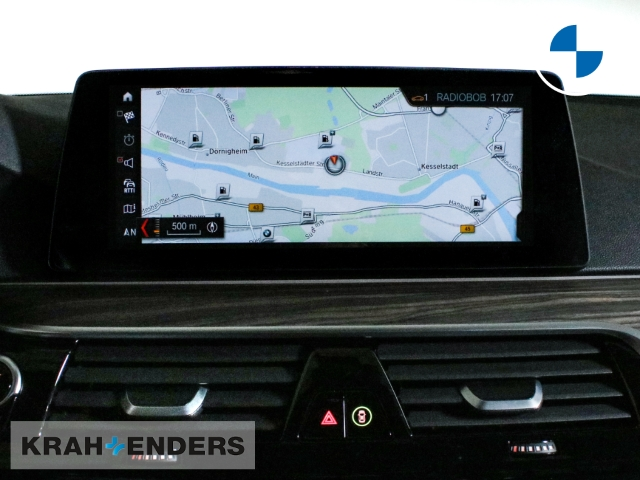 BMW M550 i xDrive Park-Assistent