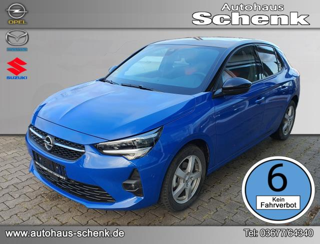 Opel Corsa GS Line 1.2 Direct Injection  74 kW (100 PS), Start/Stop, Euro 6