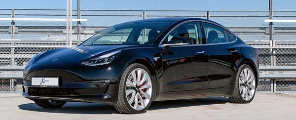 Tesla Model 3 konfigurieren